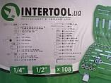 Набор инструмента 108 предметов INTERTOOL ET-6108SP, фото 6