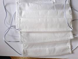 Маска для лица защитная,белого цвета в Наличии!Цена за  10 шт