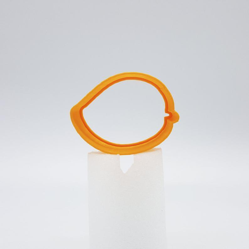 3D формочка для печенья - Манго   Вырубка для печенья на заказ