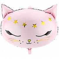 Фольгированный шар фигура Кошечка Partydeco