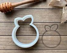 3D формочка для печива - Апельсин | Вирубка для печива на замовлення