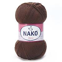 100% микрофибра ( 100г/350м) Nako Ibiza 1182 (шоколад)