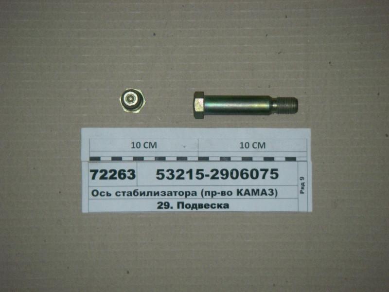 Ось стабилизатора (пр-во КАМАЗ) 53215-2906075