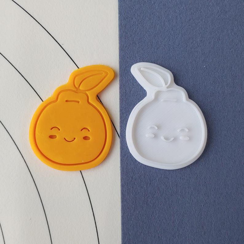 3D формочка для печенья - Мандарин | Вырубка для печенья на заказ