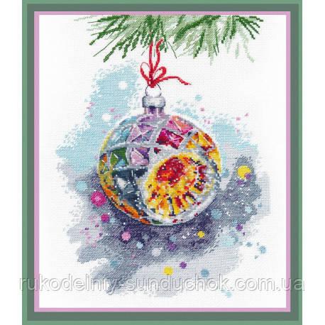 Набор для вышивки крестом ТМ Овен Новогоднее настроение 1274о