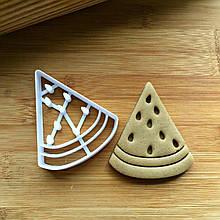 3D формочка для печива - Кавун #2 | Вирубка для печива на замовлення