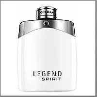 Mont Blanc Legend Spirit туалетная вода 100 ml. (Тестер Монблан Легенда Спирит)