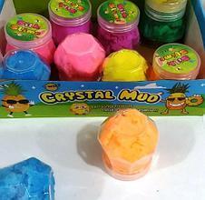 """Іграшка слайм """"Неон з піском"""", мікс, Слайм - лизуны """"Неон песочный"""""""