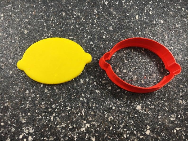 3D формочка для печенья - Лимон #2 | Вырубка для печенья на заказ