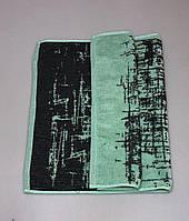 Полотенце махровое лицевое 50х90 см Шебби ментол
