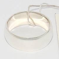 Серебряное обручальное кольцо 75КЮ