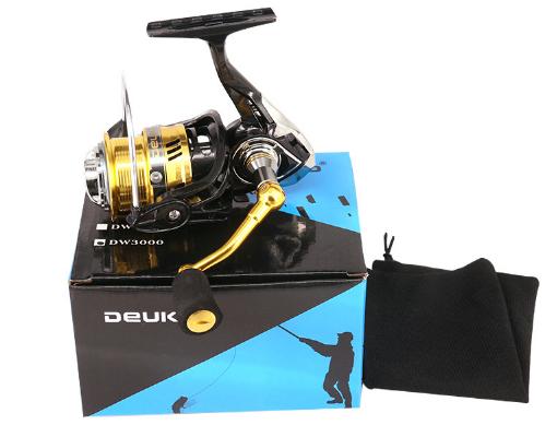 Рыболовная безынерционная  Катушка deukio DW ( 3000 размер )