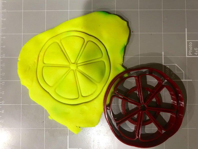 3D вирубка для печива - Апельсин #2   Вирубка для печива на замовлення