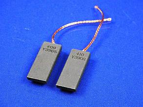 Щетки электродвигателя 5*12,5*40 мм. шнур посредине двухслойные (комплект 2 шт.), фото 2