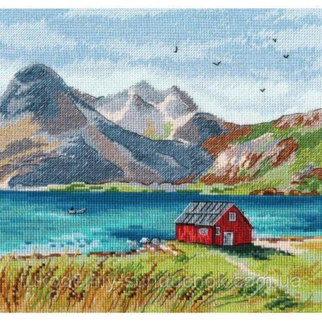 Набір для вишивки хрестом ТМ Овен Лофотенські острови 1280о