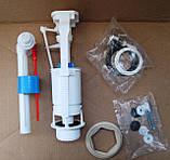 Арматура для бачка унитаза тм. Днепрокерамика с боковым подводом воды, фото 6