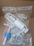 Арматура для бачка унитаза тм. Днепрокерамика с боковым подводом воды, фото 9