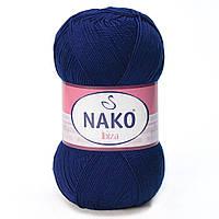 100% микрофибра ( 100г/350м) Nako Ibiza 148 (т.синий)