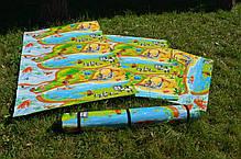 Детский коврик для ползания ребенка «Мадагаскар» (оригинал) 2000х1200х8 мм, фото 3