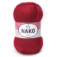 100% микрофибра ( 100г/350м) Nako Ibiza 1175 (т.красный)
