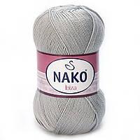 100% микрофибра ( 100г/350м) Nako Ibiza 130 (серый)