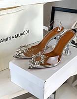Красивейшие босоножки AMINA MUADDI (реплика), фото 1