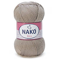 100% микрофибра ( 100г/350м) Nako Ibiza 2000 (серо-бежевый)