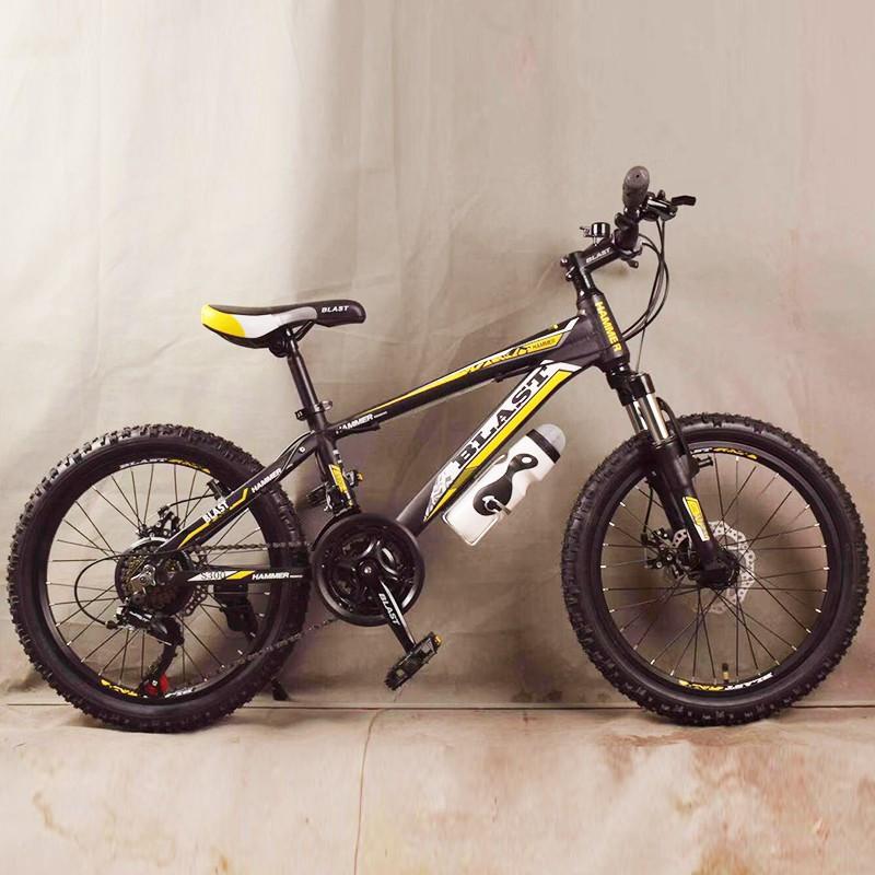 Горный алюминиевый Подростковый Велосипед S300 BLAST-БЛАСТ Диаметр колёс 20 дюймов Рама 11 Япония Shimano Желтый