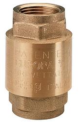 """Клапан обратного хода воды 1/2"""" EUROPA 100 ITAP Италия"""