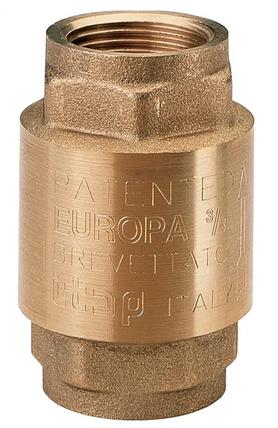 """Клапан обратного хода воды 1/2"""" EUROPA 100 ITAP Италия, фото 2"""