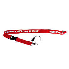 "Ремешок для бейджа ""Remove Before Flight"""