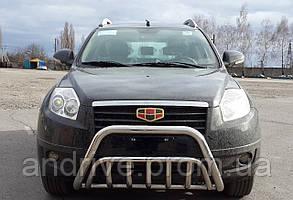 Кенгурятник (защита переднего бампера)Geely Emgrand X7 2013+