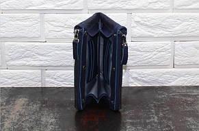 Клатч - кошелек Синий 6036, фото 2