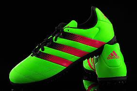 Футбольные Сороконожки adidas ACE 16.3 TF Lea original размер 41.5
