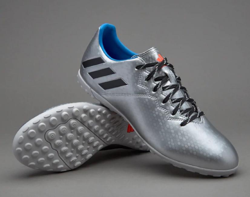 Футбольные Сороконожки Adidas MESSI 16.4 TF ARGENT original размер 41.5