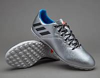 Футбольные Сороконожки Adidas MESSI 16.4 TF ARGENT original размер 41.5, фото 1