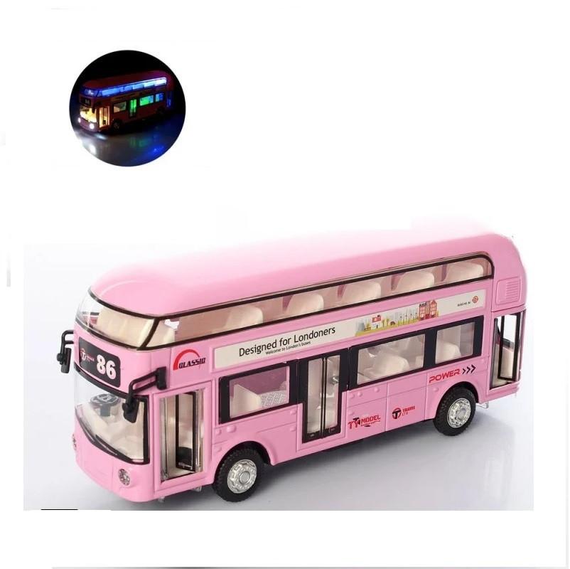 Двухэтажный автобус со светом и звуком