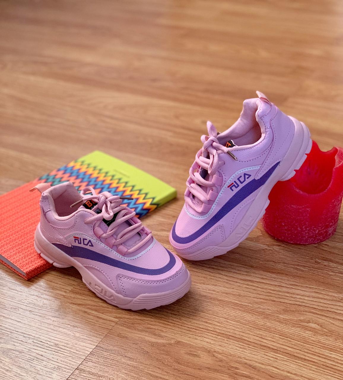 Дитячі кросівки рожеві