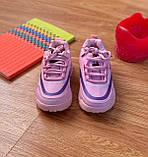 Дитячі кросівки рожеві, фото 2