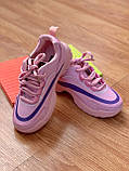 Дитячі кросівки рожеві, фото 3