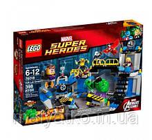 Lego Super Heroes 76018 Лаболатория Халка