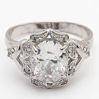 Серебряное кольцо 73КЮ