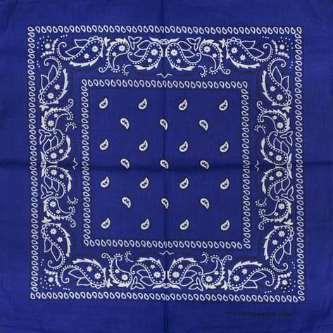 Бандана BAN-207 Синяя, фото 2