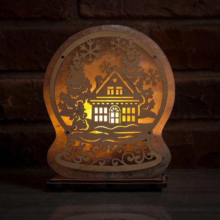 Соляной светильник Сказочный шар