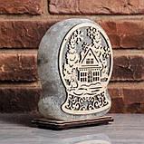 Соляной светильник Сказочный шар, фото 2