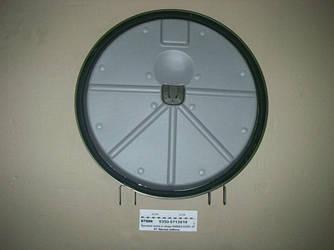 Крышка люка круглая в сборе КАМАЗ-43501 (4х4), -53504 (6х6) (пр-во КАМАЗ) 5350-5713010