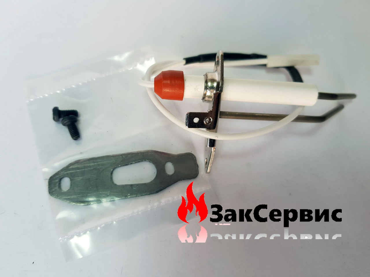 Электрод розжига и контроля пламени Ferroli 39846091