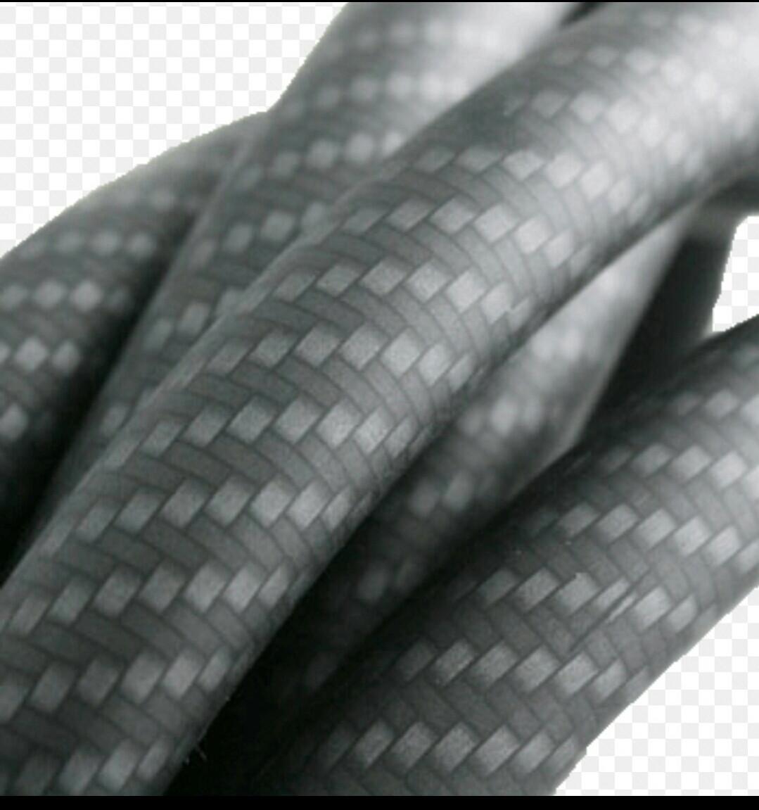 Силиконовый шланг для Кальяна Soft touch чёрный amy плотность  карбоновые