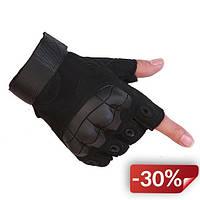 Перчатки без пальцев штурмовые тактические Viper JHG00377 XL Черные (tau_krp270_00377)