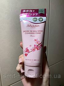 Пенка для умывания JM Solution Sakura универсальная
